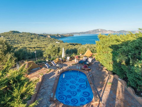 Athenea Villas Keri Lake Zakynthos Greece
